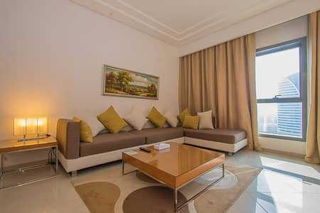 Free bills and fully furnished 1br for rent in tecom