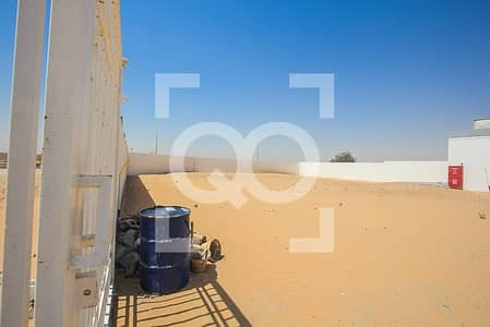 Plot for Rent in Al Saja, Sharjah - UNMISSABLE | Open Yard | 2 Offices | Al Sajaa Sharjah |