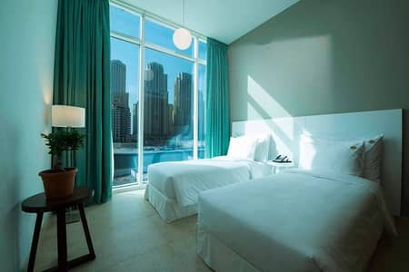 2 Bedroom Hotel Apartment for Rent in Dubai Marina, Dubai - Stunning 2 Bedroom Apt. Dubai Marina - No Commission
