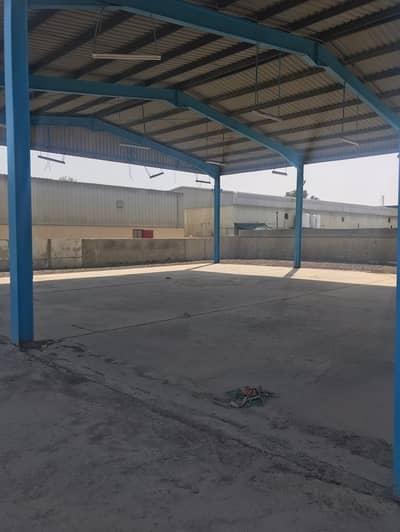 Plot for Rent in Al Quoz, Dubai - Open land and shed for rent in Al Quoz