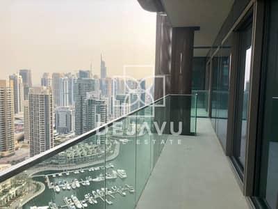 2 Bedroom Flat for Rent in Dubai Marina, Dubai - MARINA VIEW I UNFURNISHED I CHILLER FREE