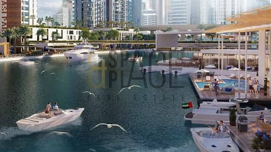 1 Bedroom | Burj Khalifa and Canal View | Marasi Riverside