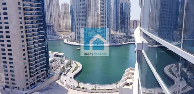 2 Bedroom Flat for Rent in Dubai Marina, Dubai - Luxury 2BR apt with view of Marina on High Floor!!