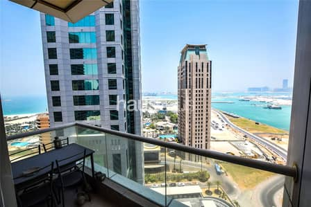 1 Bedroom Flat for Rent in Dubai Marina, Dubai - Full Sea view | Exclusive Botanica Tower
