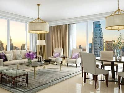 1 Bedroom Flat for Sale in Downtown Dubai, Dubai - Exclusive | High Floor | Great Investment