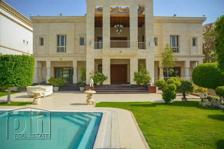 6 Bedroom Villa for Sale in Emirates Hills, Dubai - One-off