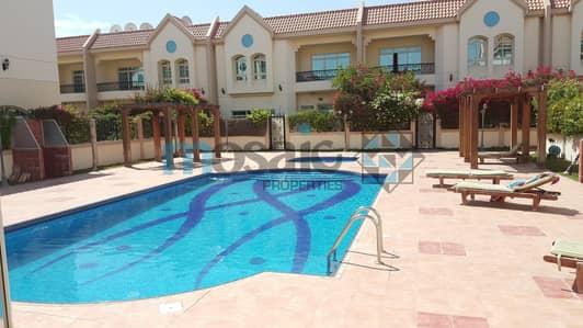 4 Bedroom Villa for Rent in Al Manara, Dubai - 4BR Compound Villa with private garden and  pool