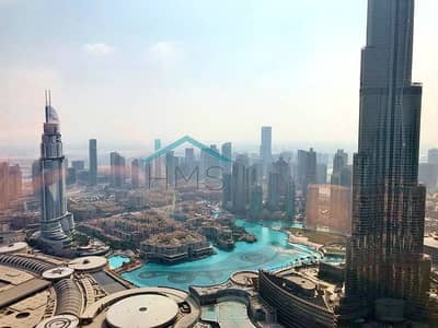 4 Bedroom Flat for Rent in Downtown Dubai, Dubai - One of the best views in Downtown