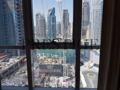2 Bedroom Apartment for Sale in Dubai Marina, Dubai - Marina view |  Mid floor | Near to beach