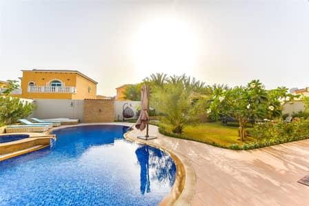 5 Bedroom Villa for Rent in Jumeirah Park, Dubai - Jacuzzi   Pool   Corner Plot   Stunning