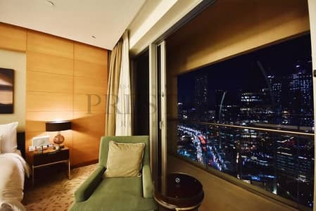 Studio for Rent in Downtown Dubai, Dubai - Exclusive | High Floor | Fully Furnished