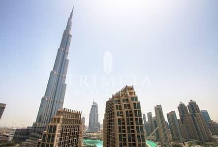 Burj Khalifa And Fountain View