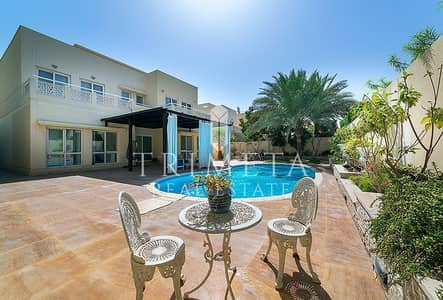 Upgraded 5 BR Villa with Private Pool in Meadows 9