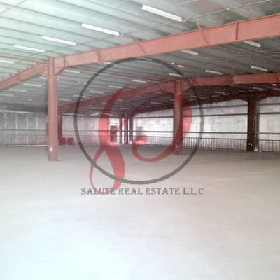Warehouse for Rent in Al Jurf, Ajman - waw deal!!! 2500 sqft warehouse with 3 phase electricity near china mall for just aed 55,000/year