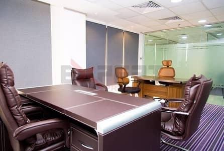 Office for Rent in Al Garhoud, Dubai - Free Dewa and Wifi !! Fully Furnished office in Al Gharoud