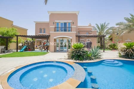 5 Bedroom Villa for Sale in Arabian Ranches, Dubai - Full Golf Course View | Immaculate Garden