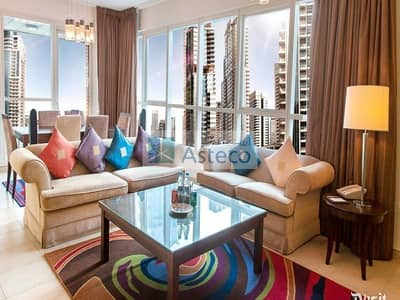 3 Bedroom Apartment for Rent in Dubai Marina, Dubai - Residential & Serviced Apartments | Exclusive with Asteco