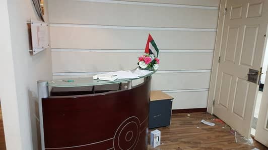 Office for Rent in Al Mamzar, Dubai - Abu Hail  1200 sqft Fitted Office Space Close to Metro Station
