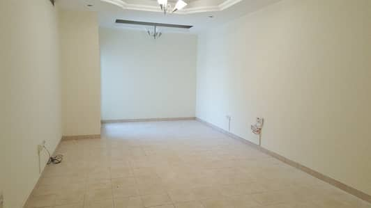 2 Bedroom Flat for Rent in Al Mamzar, Dubai - Abu Hail spacious 2 Bed Room Hall Kitchen with chiller free close to Metro Station