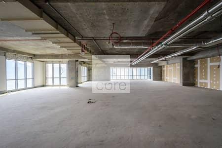Office for Rent in Dubai Marina, Dubai - Spacious I Shell and Core I High Floor