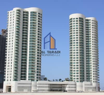 1 Bedroom Apartment for Rent in Al Reem Island, Abu Dhabi - Seaview 1BR Apartment in Beach Towers A