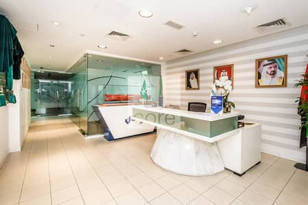 Office for Sale in Jumeirah Lake Towers (JLT), Dubai - Spacious  I DMCC Freezone I High Floor
