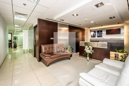 Office for Sale in Jumeirah Lake Towers (JLT), Dubai - Fitted office I High Floor  I  Freezone