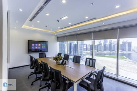 Office for Rent in Business Bay, Dubai - Ejari | 12 cheques | Fully Furnished Offices | Burlington tower