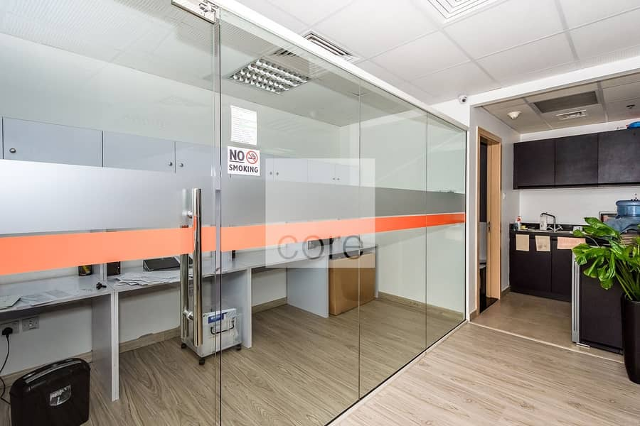 10 Fitted and Furnished office I High Floor