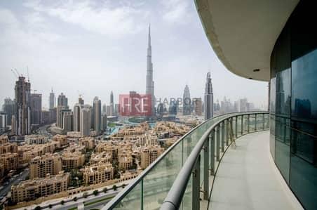 2 Bedroom Hotel Apartment for Sale in Downtown Dubai, Dubai - Fantastic Burj Khalifa View Luxury Designed 2 Bed