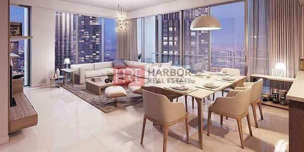 شقة 2 غرفة نوم للبيع في وسط مدينة دبي، دبي - On a High Floor 2BR The Address Dubai Opera
