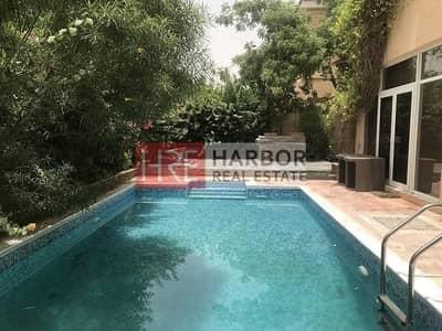 5 Bedroom Villa for Sale in The Villa, Dubai - Park Facing Mazaya A1 with Zen Garden + Pool