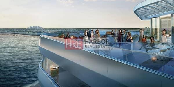 فلیٹ 2 غرفة نوم للبيع في نخلة الجميرا، دبي - Luxury 2BR with Full Sea View + NO COMMISSION