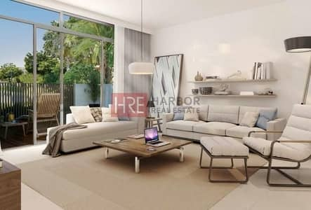 3 Bedroom Villa for Sale in Dubai South, Dubai - Resale Phase-1 Corner Close to Pool and Park 3BR Towhnouse