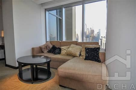 1 Bedroom Flat for Rent in Dubai Marina, Dubai - High floor / Amazing view