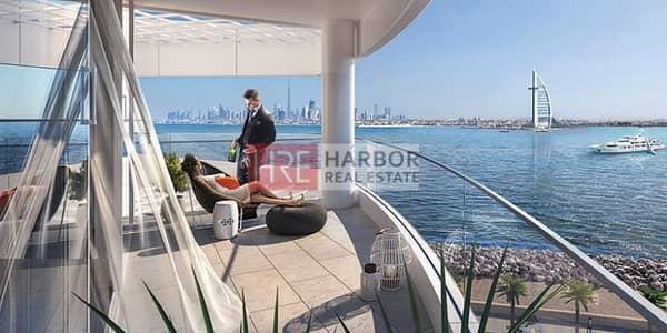شقة 1 غرفة نوم للبيع في نخلة الجميرا، دبي - 1BR Atlantis & Full Sea View | NO COMMISSION!