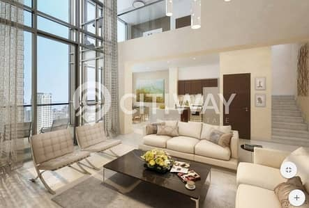 2 Bedroom Apartment for Sale in Downtown Dubai, Dubai - 2 BR Home with Full Burj Khalifa and Downtown View