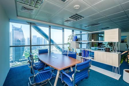 Office for Rent in Jumeirah Lake Towers (JLT), Dubai - 2 months rent free I fitted office I JLT