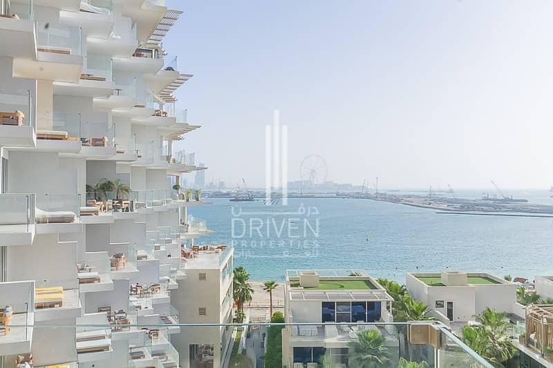 Full Sea and Dubai Eye Views   2 BR Apt.