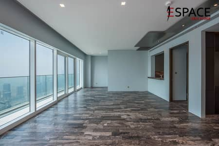 3 Bedroom Apartment for Rent in Dubai Marina, Dubai - Highest Floor | Fendi Interior Designs | Vacant