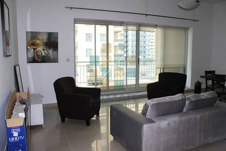 1 Bedroom Flat for Rent in Dubai Marina, Dubai - Close to Metro - Furnished 1 BED - Community view !