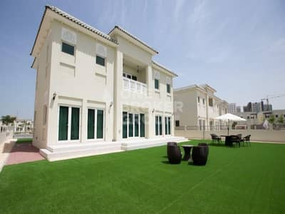 4 Bedroom Villa for Sale in Al Furjan, Dubai - Spacious 4BR+M Villa Type A Qurtaj style