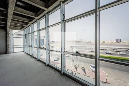 مکتب  للايجار في شارع الشيخ زايد، دبي - Excellent shell and core office IRawabeh