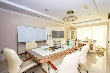 Office for Rent in Jumeirah Lake Towers (JLT), Dubai - Fitted office for rent in The Palladium