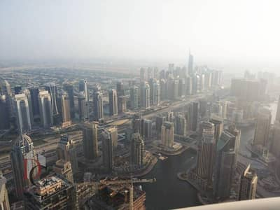 Exclusive Big Furnished 2 BR Above 85th floor Full Sea View in princess tower