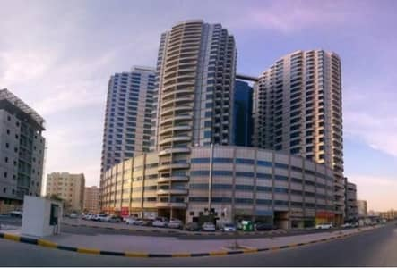 Office for Rent in Ajman Downtown, Ajman - BIGGEST OFFICE BEAUTIFUL SPACIOUS WITH PARKING IN FALCON TOWER////