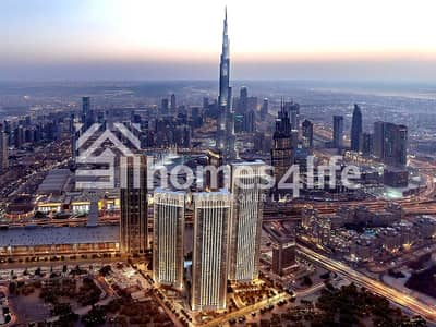3 Bedroom Apartment for Sale in Downtown Dubai, Dubai - Two Years Post Handover Payment Plan with Amazing Burj Khalifa View