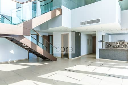 4 Bedroom Flat for Rent in Downtown Dubai, Dubai - Burj and Sea View 4 Bed plus maid AC Free