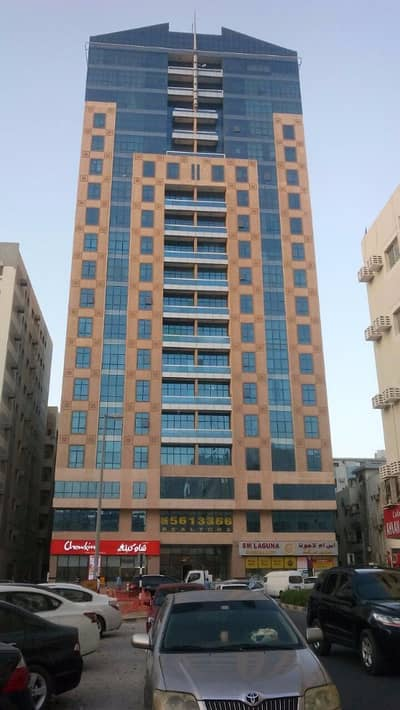 1 Bedroom Flat for Rent in Bu Daniq, Sharjah - Spacious 1 B/R Hall Flat With Slip ducted A/C,Balcony behind Mega Mal