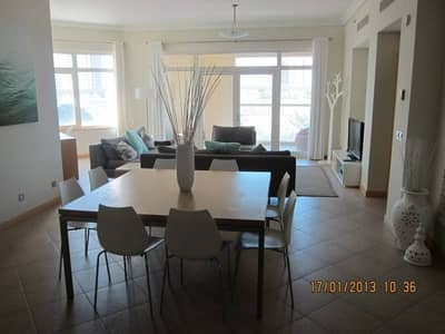Furnished 3BR+M Apartment in Shoreline Palm Jumeirah